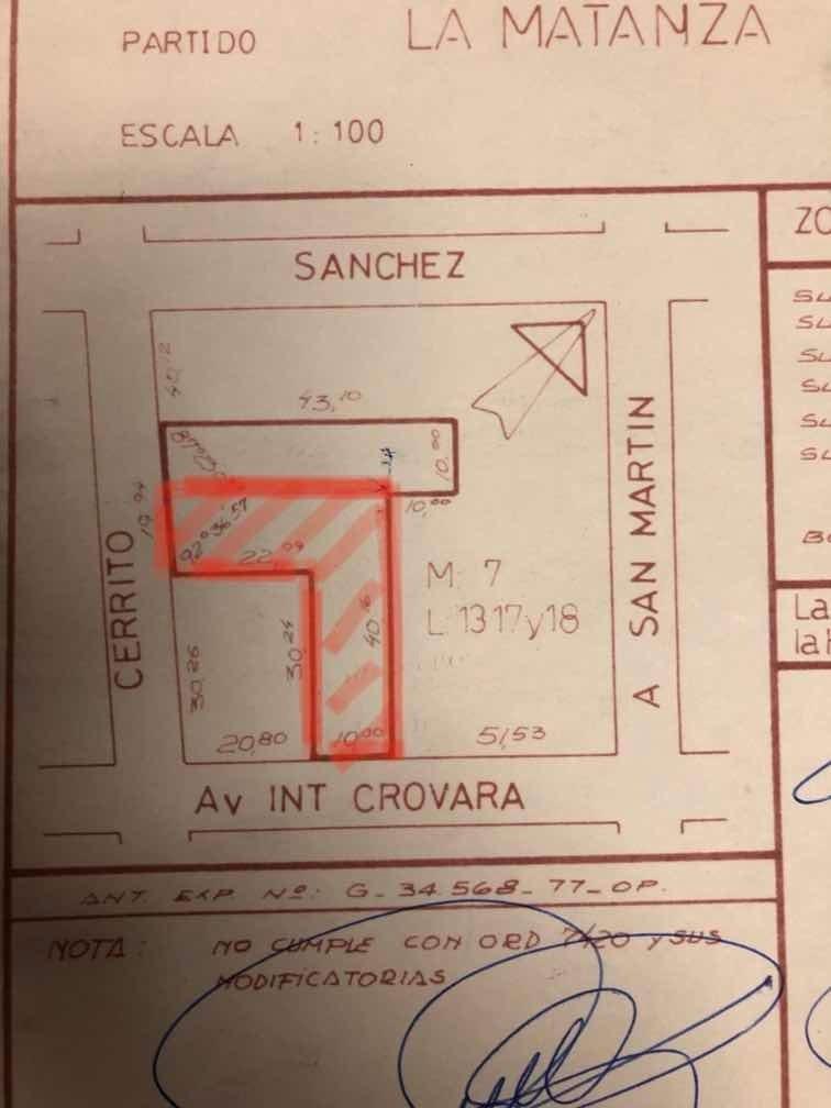 local comercial sobre avenida 1000mts/2 con instalaciones