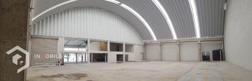 local comercial/bodega de 1,290 m2 en av. sor juana, tlalnepantla centro.