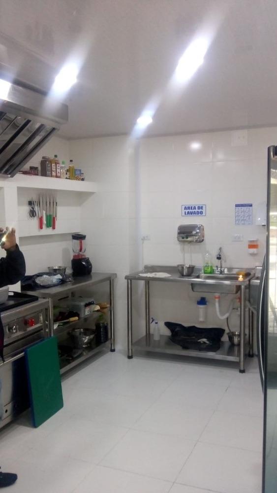 local con cocina para domicilios con aplicaciones