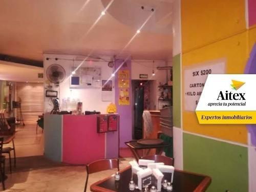 local con infraestructura para restaurante- bar familiar, colonia cuauhtémoc
