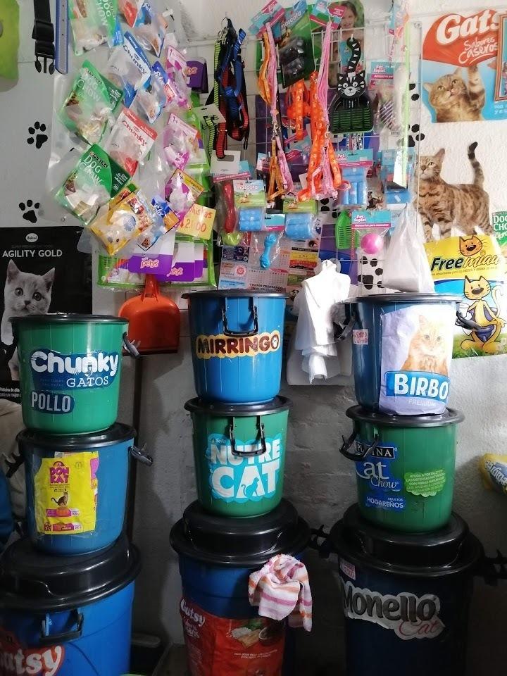 local de comida para mascotas (pet shop)