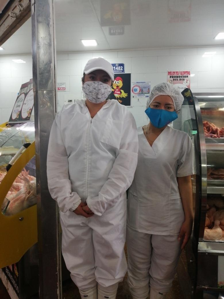 local de pollo en plaza de paloquemao