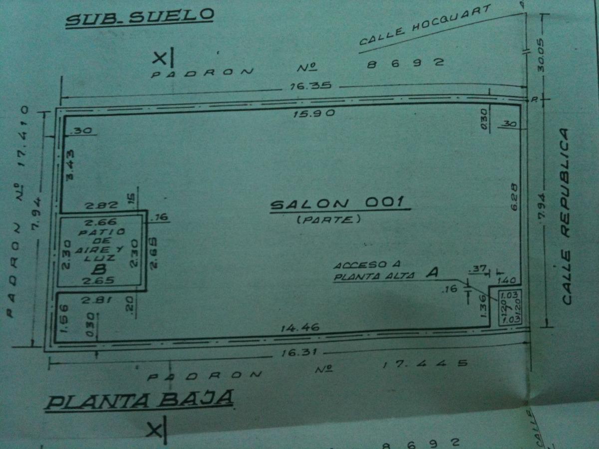 local de vehiculos   con renta de $ 25.000.-