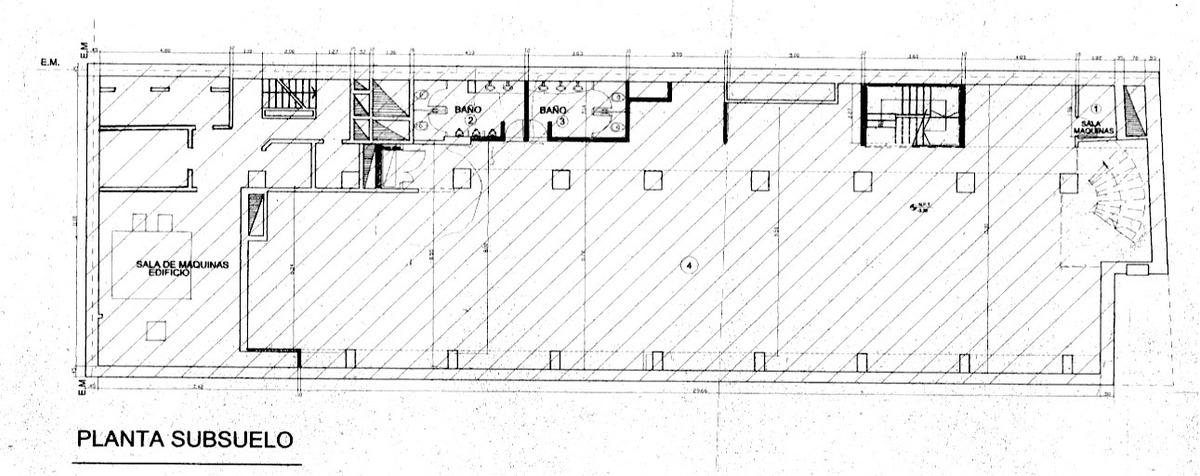 local en alquiler   cerrito 866, retiro, caba   683,44 m²