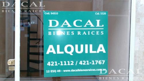 local en  alquiler en la plata calle  8 e/ 47 y 48 en gal panamericana - dacal bienes raices