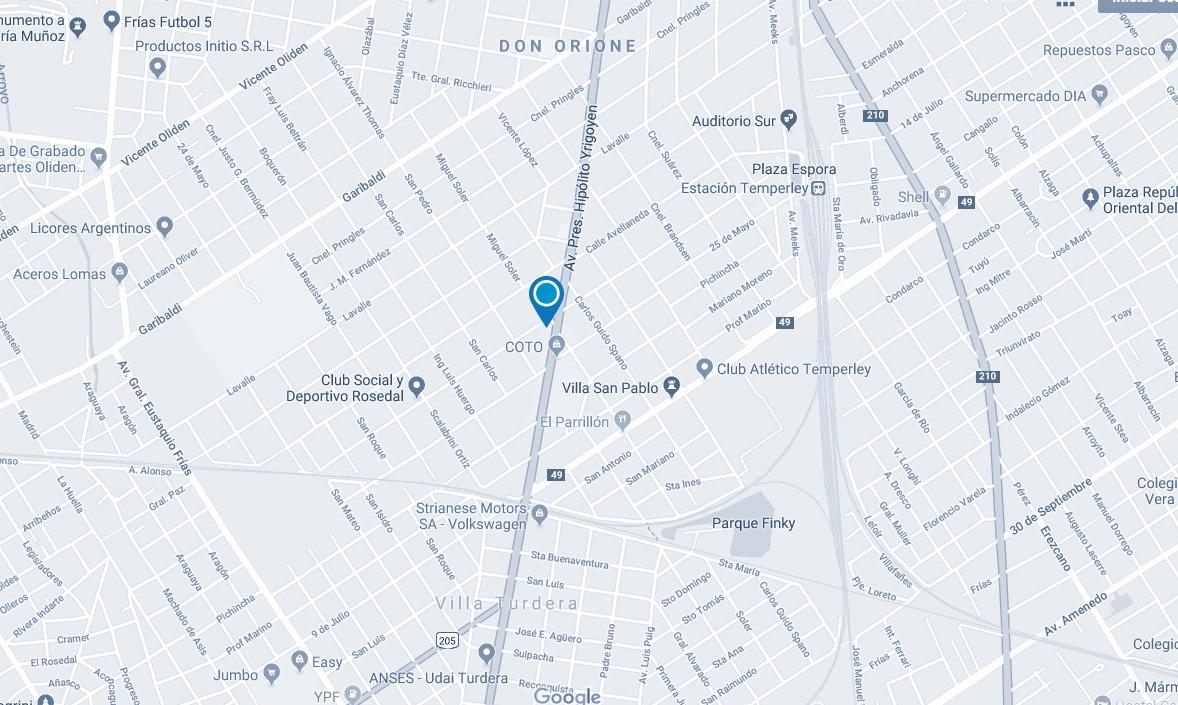 local en alquiler, hipólito irigoyen 10541, temperley 364 m2