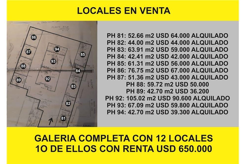 cf667bc72782 Local Galeria El Dorado. Cordoba - U S 36.300 en Mercado Libre