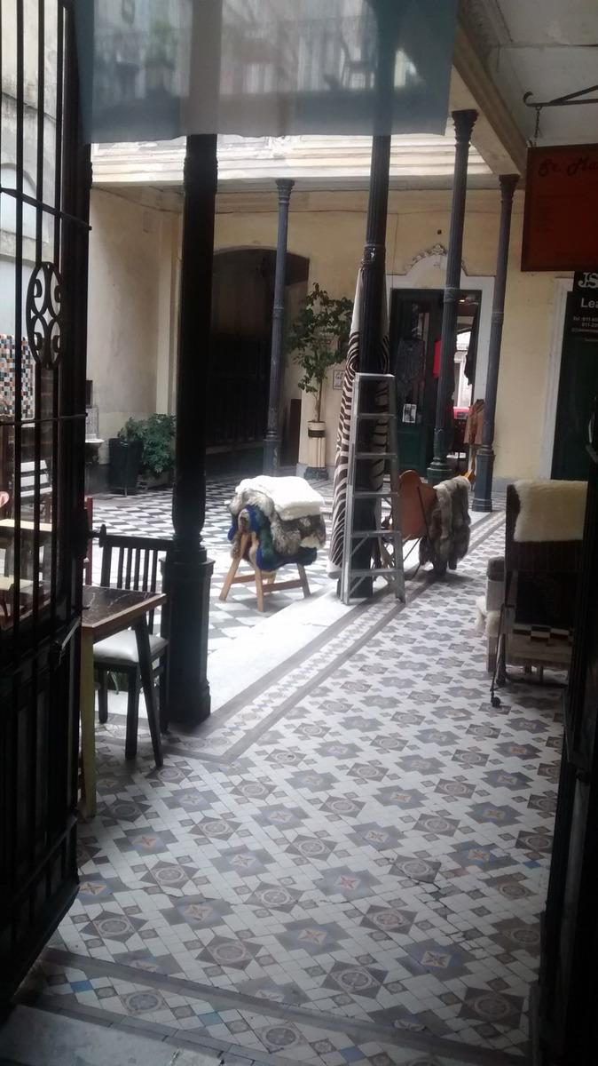 local gastronomia -en galeria casa de los ezeiza - san telmo