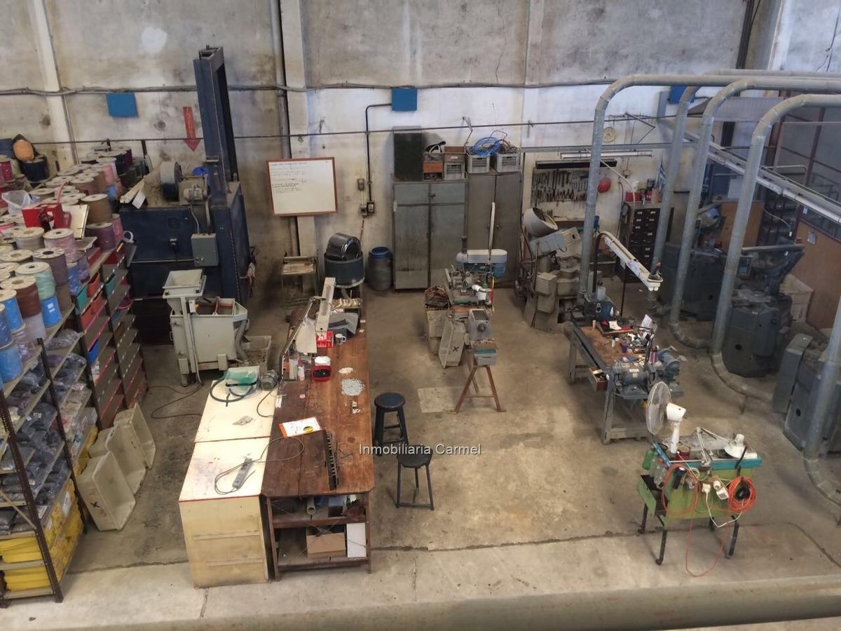 local industrial o deposito  unión 500 m2 + galpón