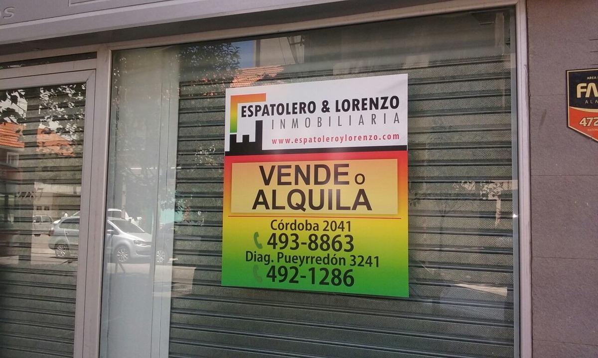 local / oficina zona plaza mitre c/ 2 cocheras descubiertas