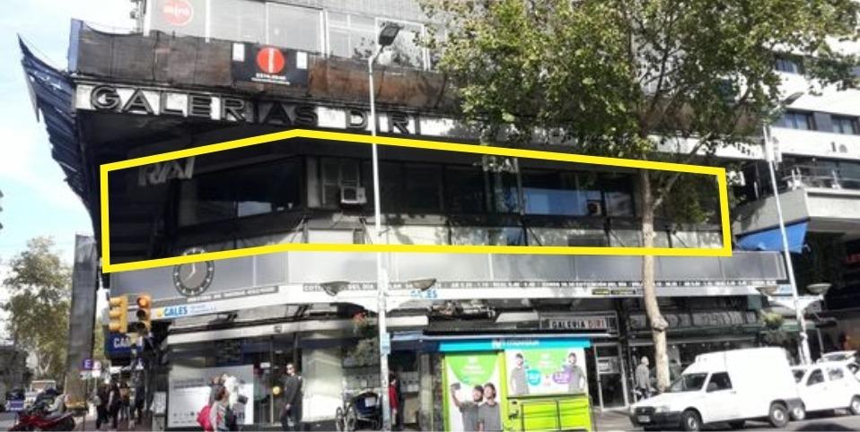 local - oficinas 600 m2 - 1º piso - 18 y rio negro