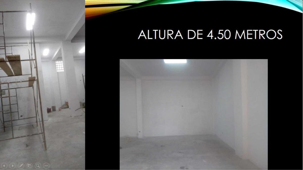 local para almacén o taller alquilo (4.5 metros de alto)