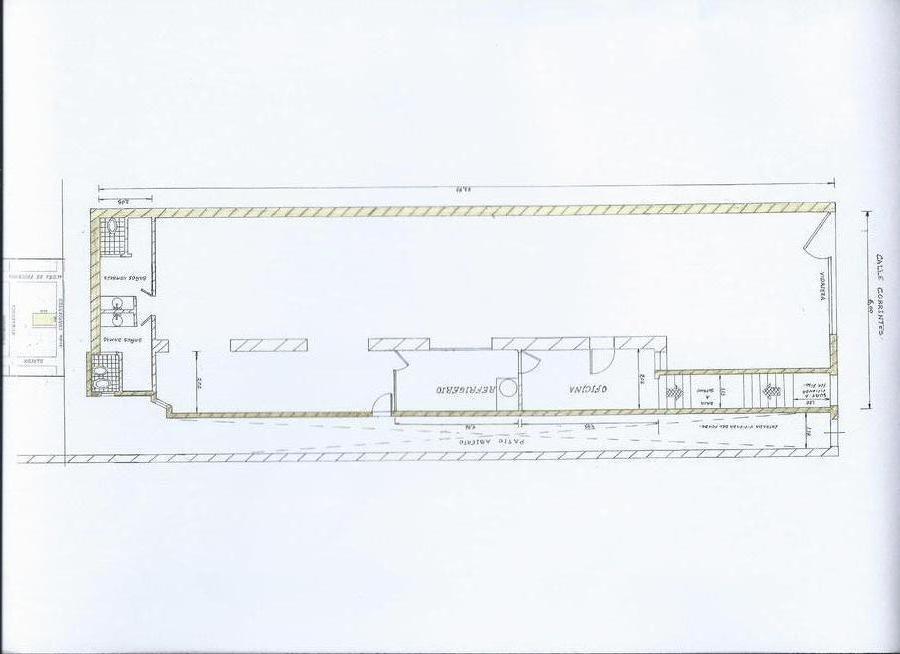 local pb 6 x 24 m2, sobre av. corrientes
