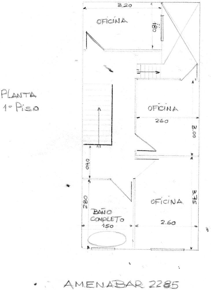 local p.b. y 2 plantas superiores en block - pleno belgrano