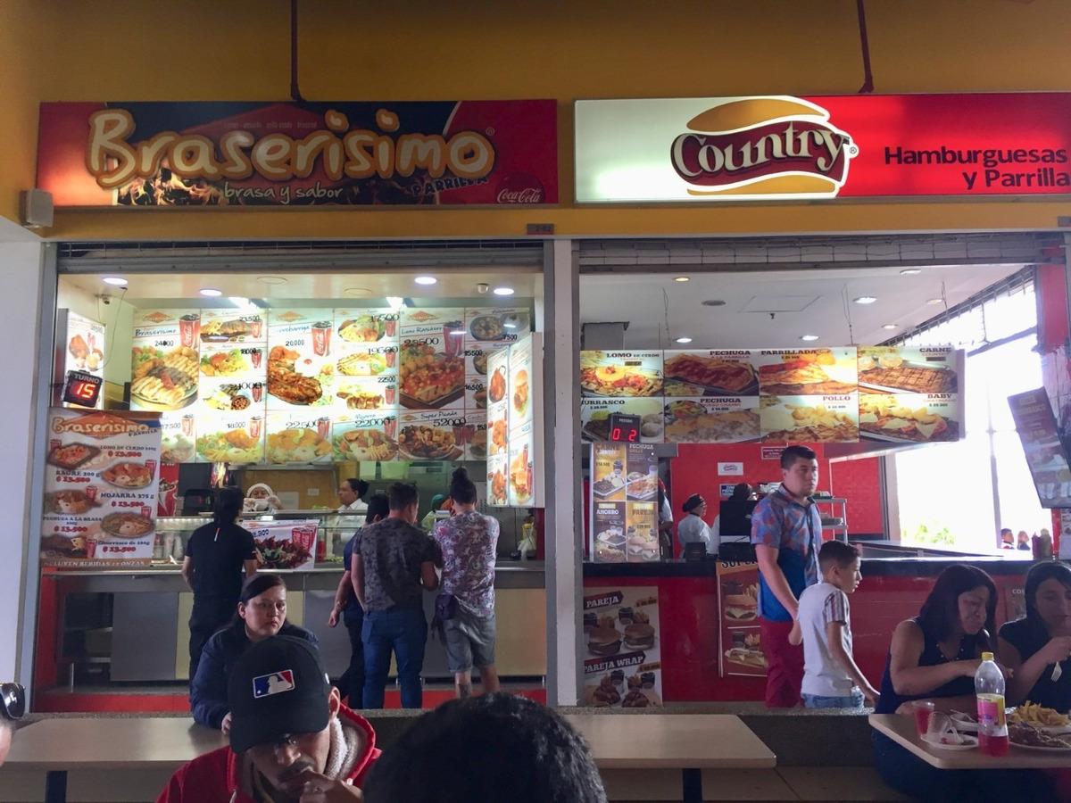 local plaza de comidas centro comercial micentro porvenir