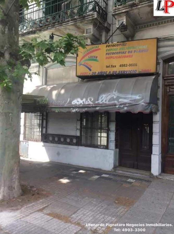 local sin expensas 5.55 mts de frente entrepiso fte pque centenario
