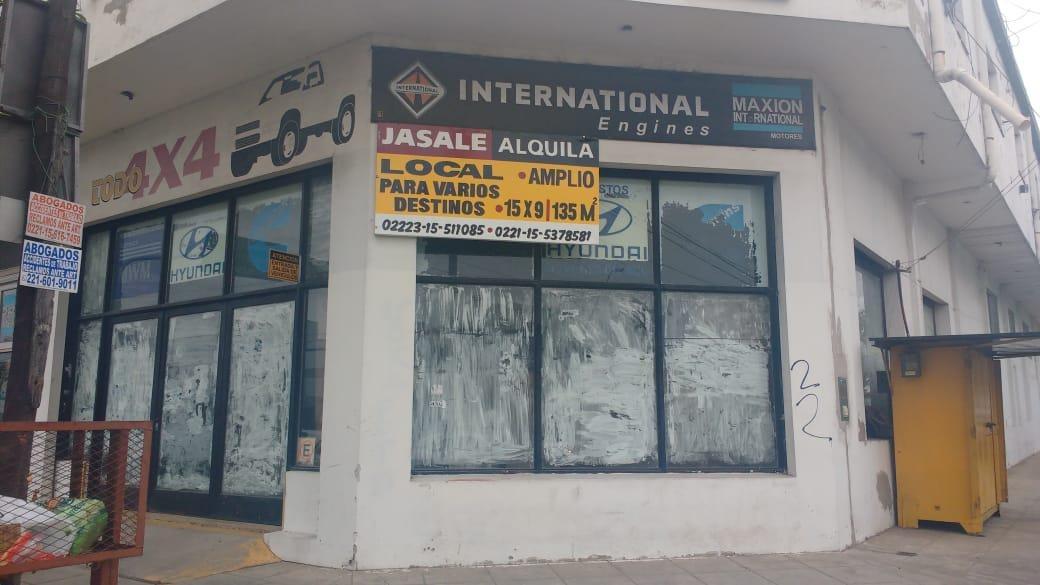 local sobre avenida 122 -105 mts 2 - la plata