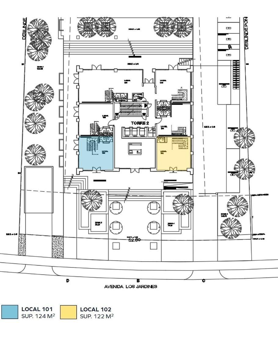 locales comerciales en edificio condor ix- avda. los jardines 931 - huechuraba.