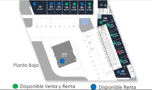 locales comerciales en nuevo business park & plaza al suroeste de la ciudad de mérida. en venta y re