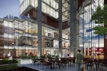 locales comerciales en preventa en un concepto innovador es un espacio ideal para el comercio, para el trabajo y la vida diaria. plaza con áreas comunes y terrazas que favorecen la convivencia social