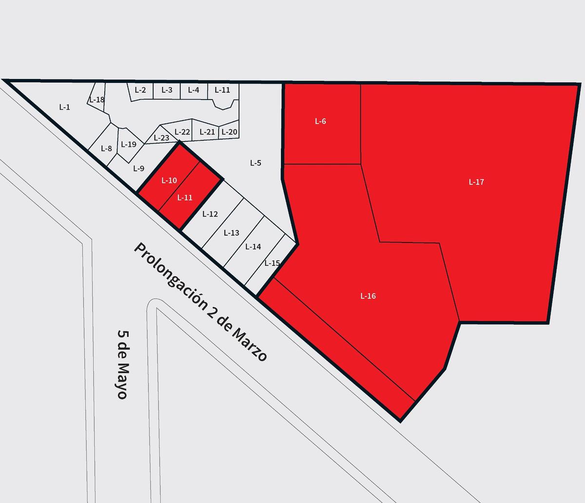 locales comerciales en texcoco, desde 156 m² hasta 3,000 m²