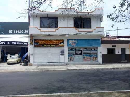 locales comerciales y departamento en venta en el centro de colima
