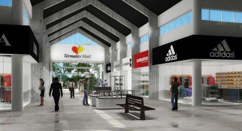 locales en  concesion y alquiler  en el 1° mall de compras  radicado dentro de un parque termal