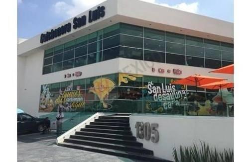 locales en renta san luis potosi, sierra vista frente plaza san luis $15,100.00