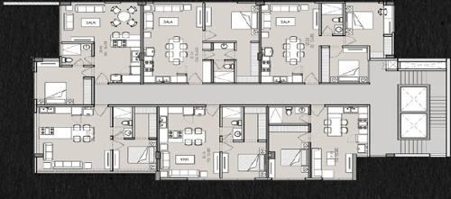 locales y oficinas en venta - torre puerta del sol - san jerónimo, nl