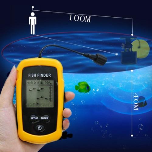 localiza peixe água mar pescaria barco caiaque fish finder