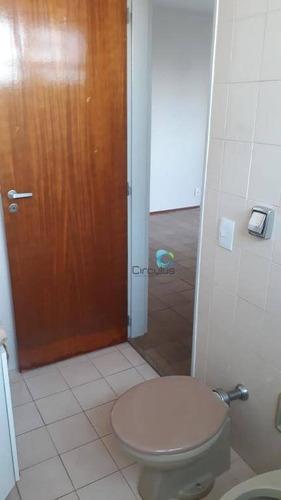 localização estrategica para médicos -1 dormitório com portaria. - ap2257