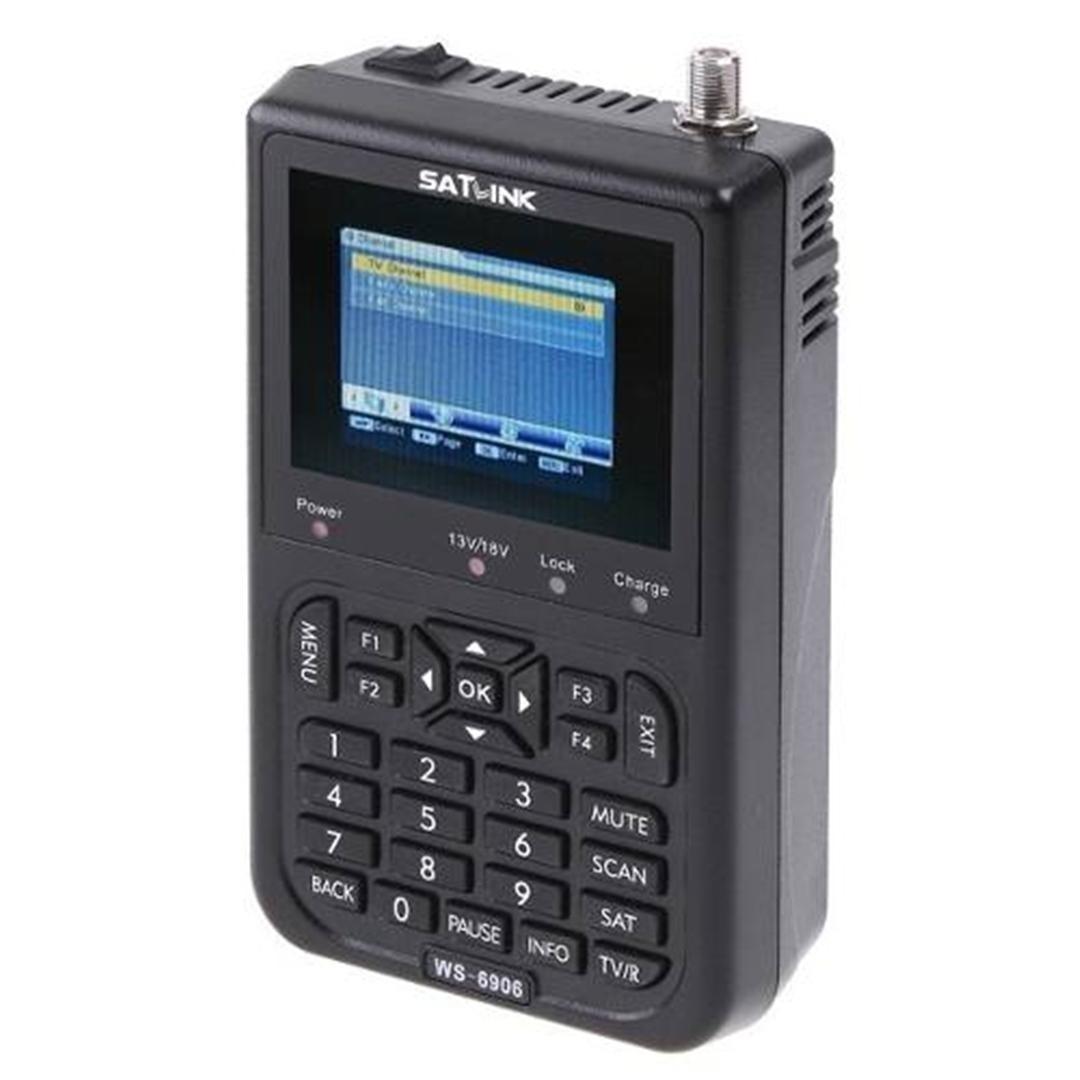 Localizador De Satélite Antena Satlink Ws-6906 Finder - R