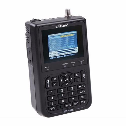 localizador de satélite antena satlink ws6906 pronta entrega