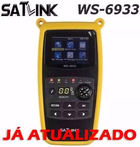localizador de satelite satlink 6933 dvb-s2 hd atualizado