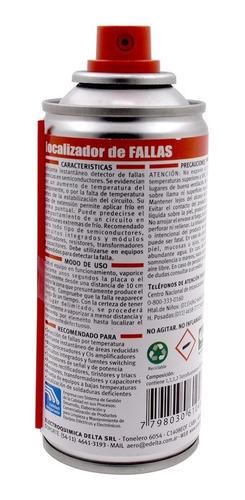 localizador fallas en aerosol 180cc lf localizador de fallas