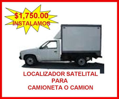 localizador gps camioneta c/micrófono sin rentas instalamos