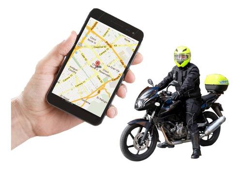 localizador gps para moto o carro + apagado desde celular
