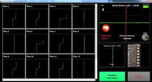 localizador, rastreador de defeitos rastre curve 2plus