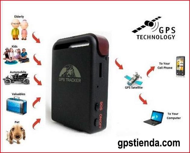 rastreador localizador gps satelital via celular pc internet