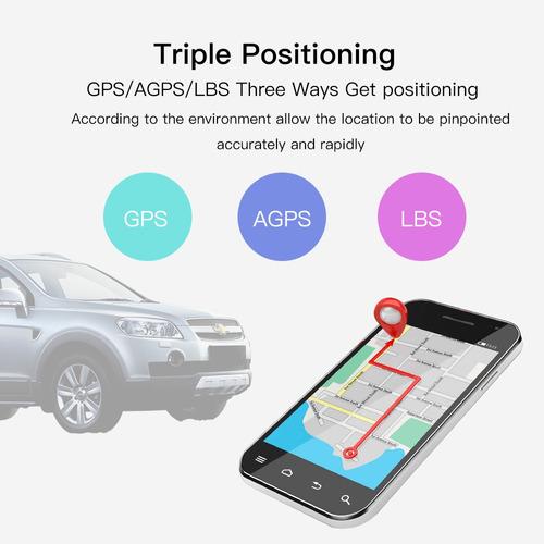 localizador rastreador gps tiempo real personal-vehicular