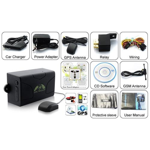 localizador satelital gps auto + bateria 60 dias, app web
