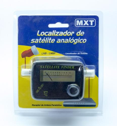 localizador satelite finder analogico, antena parabolica bip