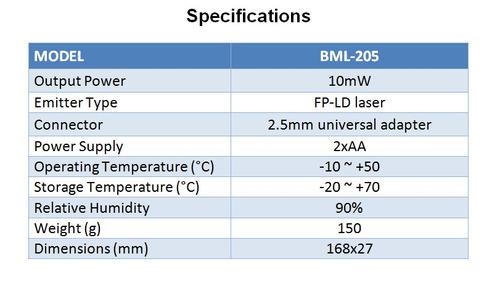 localizador visual de fallas para fibra optica (1mw)/1km