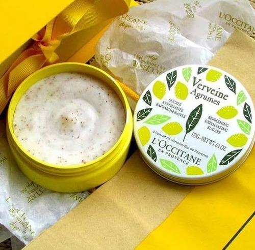 loccitane - verbena citrus - esfoliante refrescante