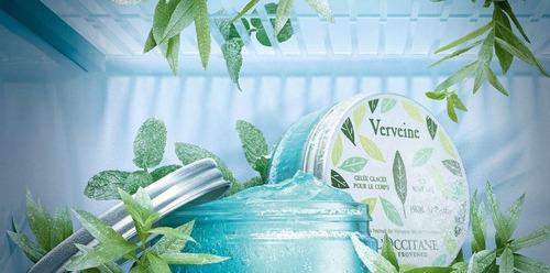 loccitane - verbena icy body gel - gel corporal refrescante