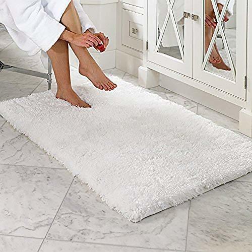 Lochas Soft Shaggy Bath Mat Non Slip