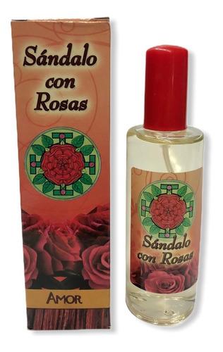 loción 100 ml sándalo con rosas