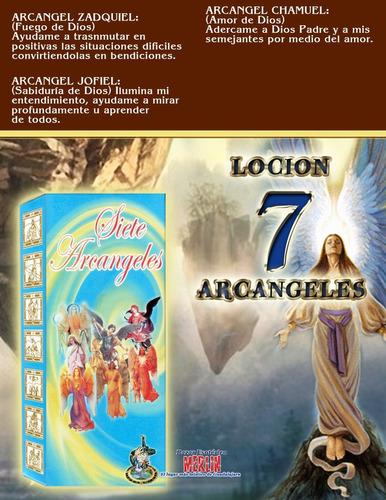 locion 7 arcangeles - armonia y proteccion en ti.