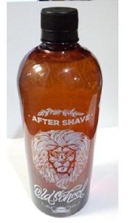 locion aftershave old school barberia x 500ml + atomizador