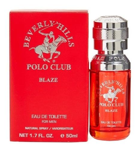 locion beverly hills polo club blaze spray caballero 100ml